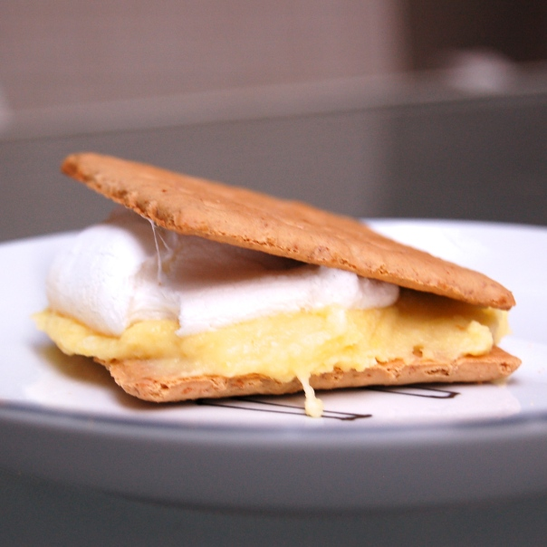 Lemon Meringue S'mores